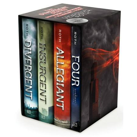 The Divergent Series  Divergent  Insurgent  Allegiant  Four