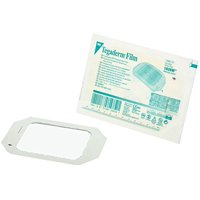 "3M Tegaderm Transparent Film Dressing - 4"" x 4 3/4"" - 10 Individual Dressings"