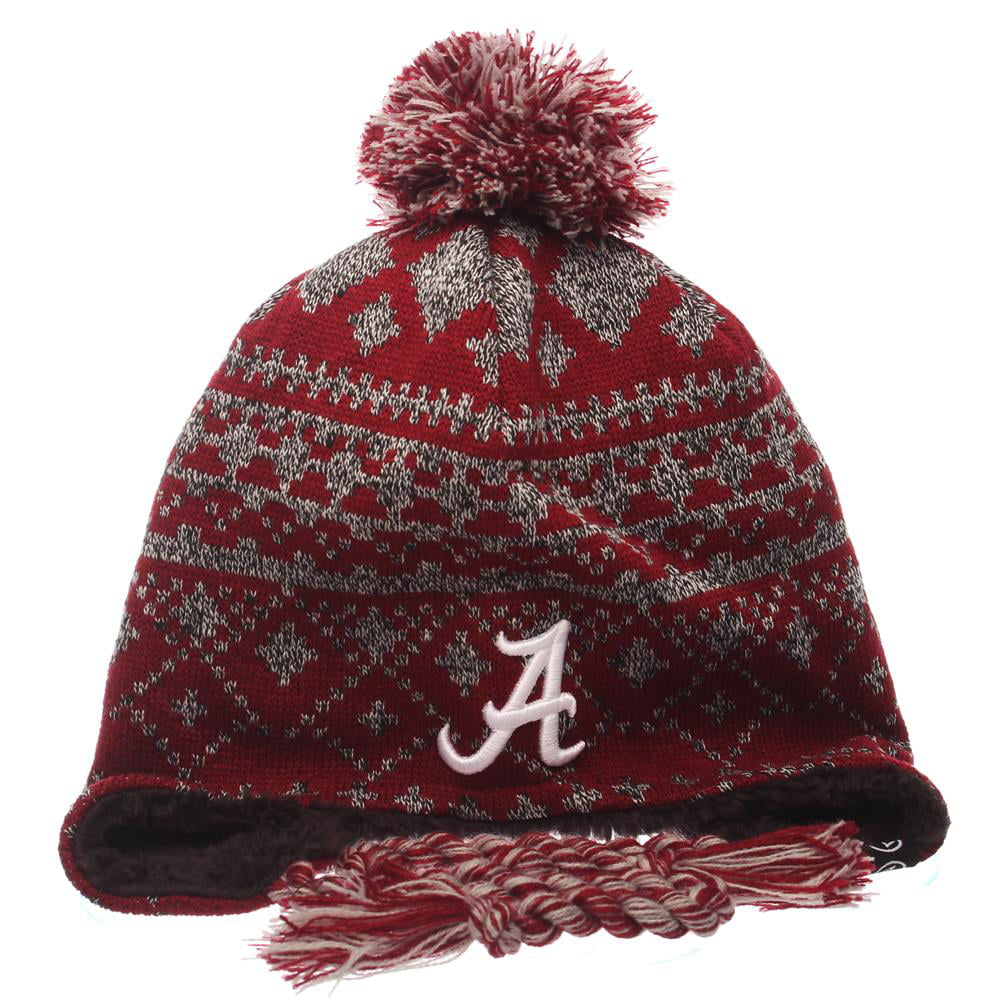 Alabama Crimson Tide Bama Beanie Zephyr Teton Knit Hat by Zephyr