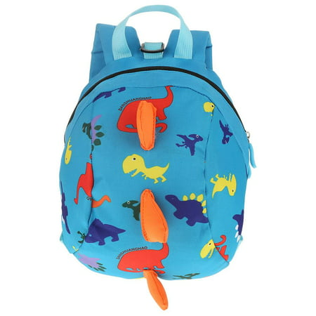 HURRISE Cute Cartoon Dinosaur Baby Oxford Safety Harness Backpack Toddler Anti-lost Bag Children (Best Baby Backpacks 2019)