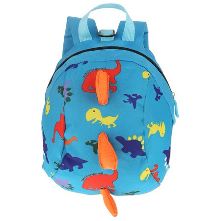 HURRISE Cute Cartoon Dinosaur Baby Oxford Safety Harness Backpack Toddler Anti-lost Bag Children