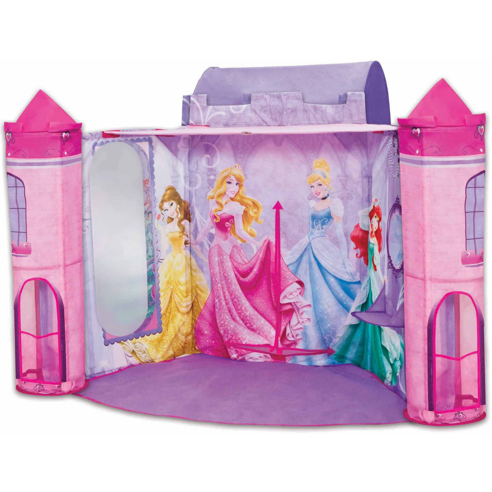 Playz Ball Pit Princess Castle Play Tents For S W Glow In The Dark Stars Pop Up Children Tent Indoor Outdoor Use Beautiful Playland