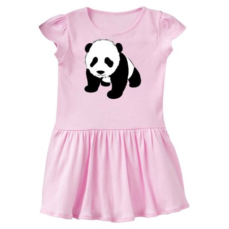 Panda Bear Toddler Dress