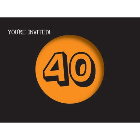 Holy Bleep 40th Birthday Party Invitations