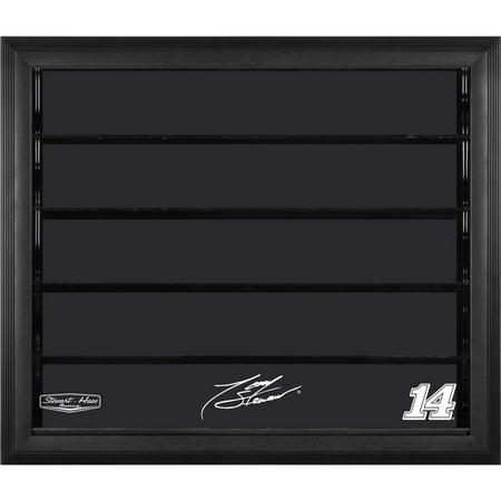 Tony Stewart Fanatics Authentic #14 Stewart-Haas Racing 10 Car 1/24 Scale Die Cast Display Case With Black Frame - No Size Tony Stewart Case