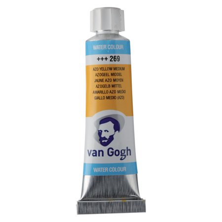 Van Gogh Watercolor, 10ml Tube, Azo Yellow Medium