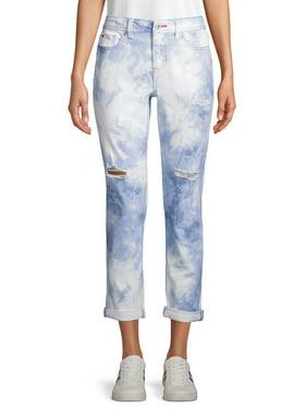 EV1 from Ellen DeGeneres Alex Relaxed Tie Dye Jeans Women's