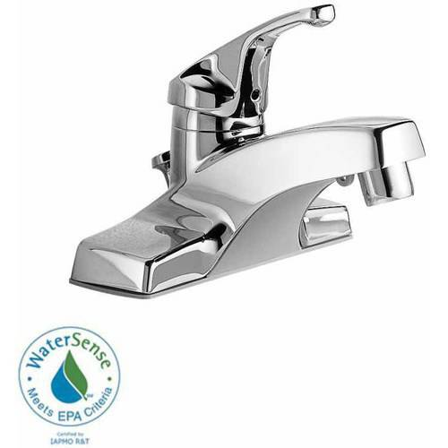 American Standard 2175.202.002 Colony Centerset Lavatory Faucet with Metal Pop-Up Drain, Chrome