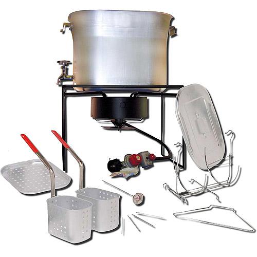 King Kooker 26-Quart Propane Turkey Fryer and Cooker