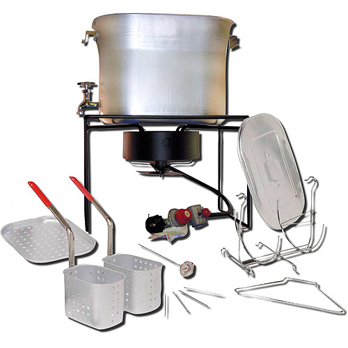 King Kooker 26-Quart Propane Turkey Fryer and Cooker