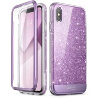 iPhone XS Max Case, [Scratch Resistant] i-Blason [Cosmo] Full-body Bling Glitter Sparkle Clear Bumper Case with Built-in Screen Protector for iPhone XS Max Case (2018 Release)