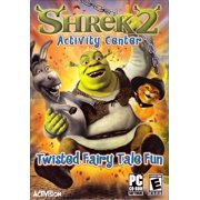 Shrek 2 Activity Center PC CDRom - Join Shrek & his Friends for Fairy Tale Fun with a Twist