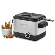 Best Fryers - Cuisinart CDF-100 Compact 1.1-Liter Deep Fryer, Brushed Stainless Review