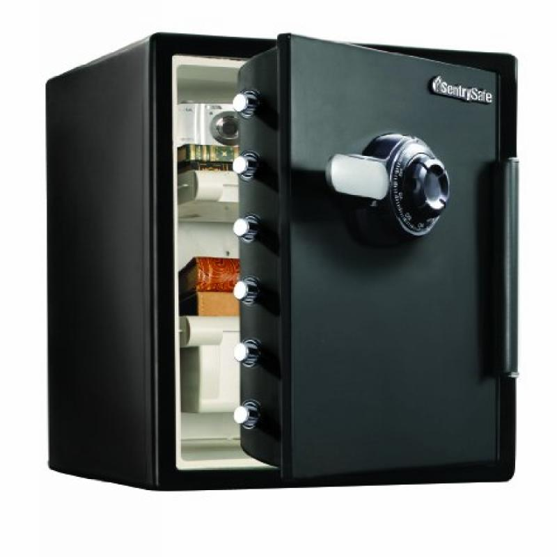 SentrySafe SFW205CWB Water-Resistant Combination Safe, 2X...