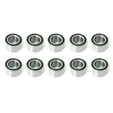 Rubber Sealed Ceramic Bearings (10x DAC356180040 Rubber Sealed Deep Groove Ball Bearings - 35x62x40 mm )
