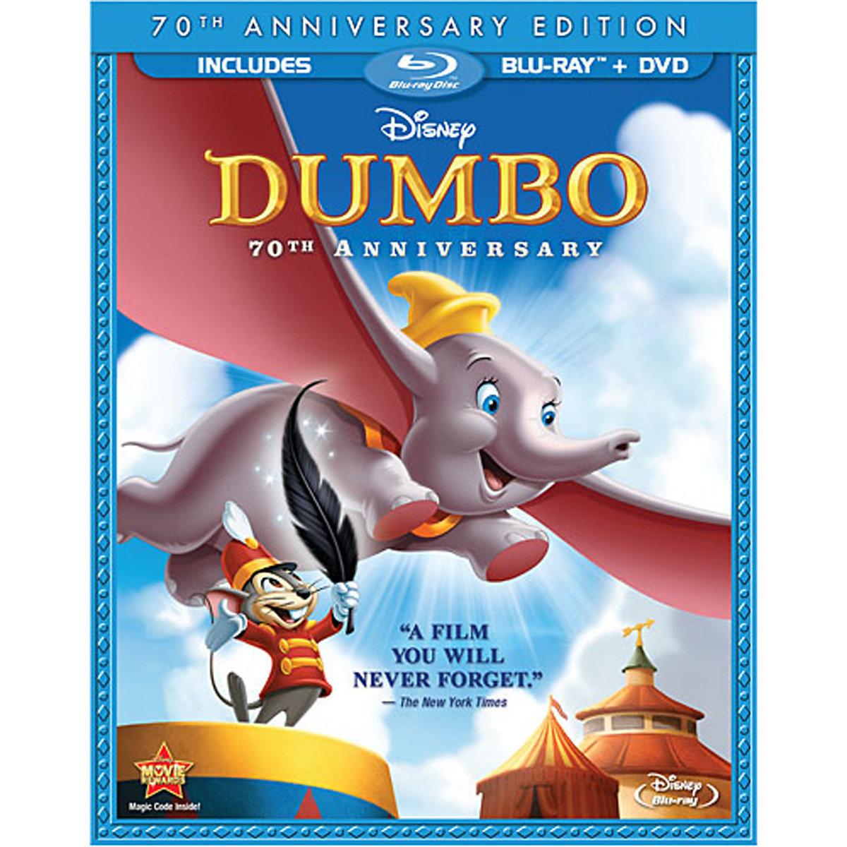 Dumbo (70th Anniversary Edition) (Blu-ray + DVD)