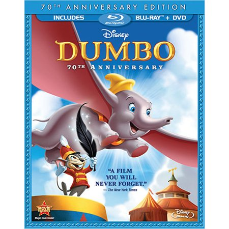 Dumbo (70th Anniversary Edition) (Blu-ray + - Disney Halloween Movies Full