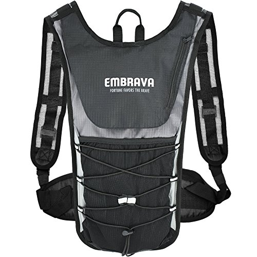 Embrava Sports Hydration 2 Liter Outdoor Survival Insulated Water Backpack NWT