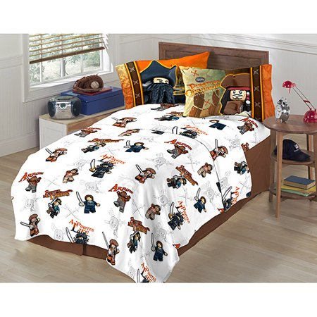 Lego Pirates Of The Caribbean Bedding Sh Walmart Com