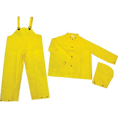 River City Three-piece Rainsuit, Yellow, 1 Each (Quantity)