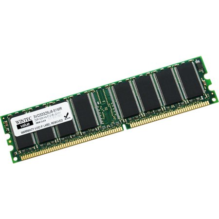 Winbook Ddr Memory - Wintec Value 512MB DDR PC2700 DIMM Desktop Memory