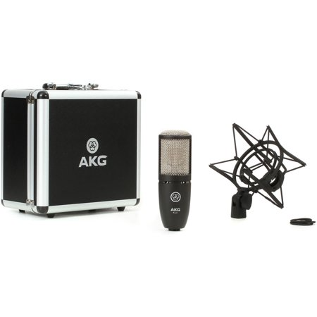 AKG P220 Large-diaphragm Condenser Microphone Black