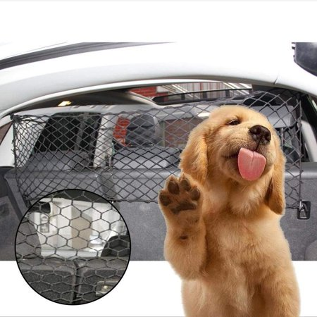 Car Pet Barrier Vehicle Dog Fence Cage Gate Safety Mesh Net Auto Travel Van - image 4 of 5