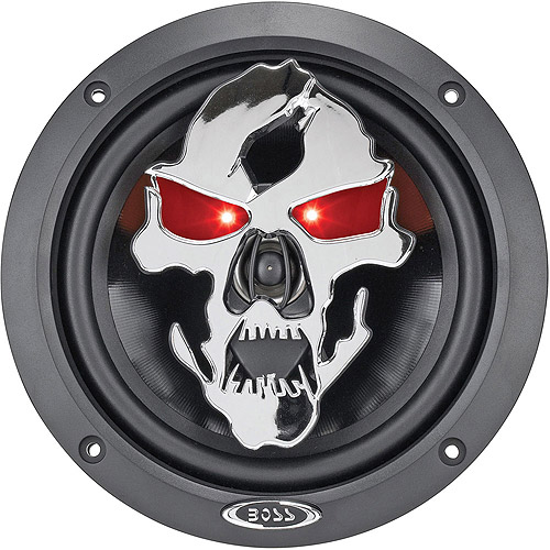 "Boss Audio SK653 Phantom Skull 6.5"" 3-Way, Car Speakers (Pair of Speakers)"