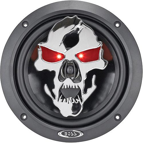 """Boss Audio SK653 Phantom Skull 6.5"""" 3-Way, Car Speakers (Pair of Speakers)"""