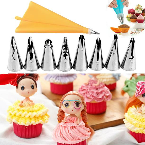 83 PCS Cake Decorating Kit Piping Tips Set for Cupcake Baking Tools Decorat Top