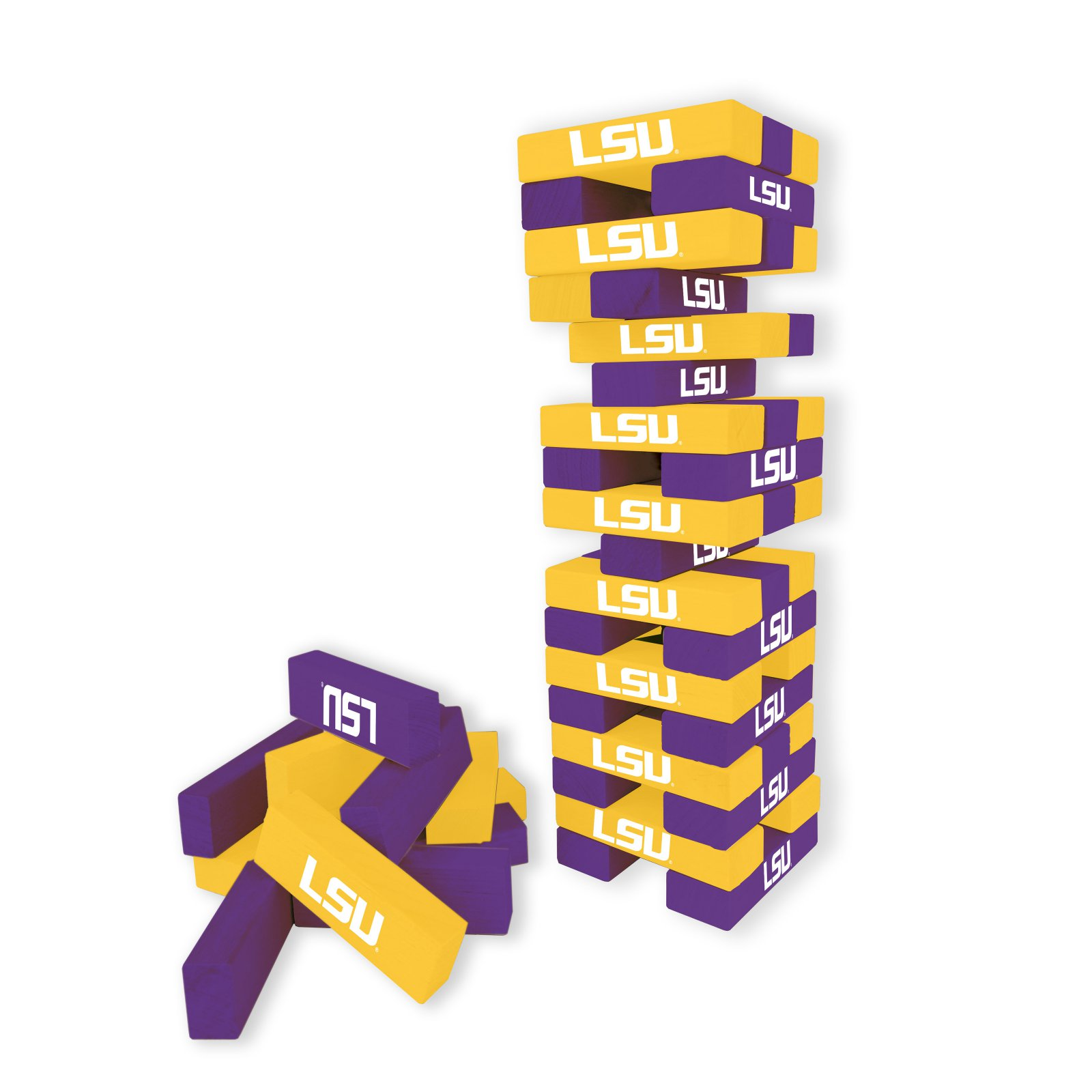 Table Top Stackers NCAA Louisiana State Tigers