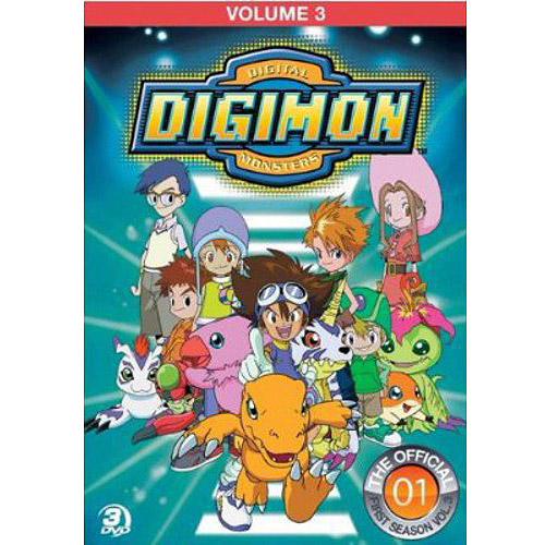 Digimon: Digital Monsters - The Offical First Season, Vol. 3
