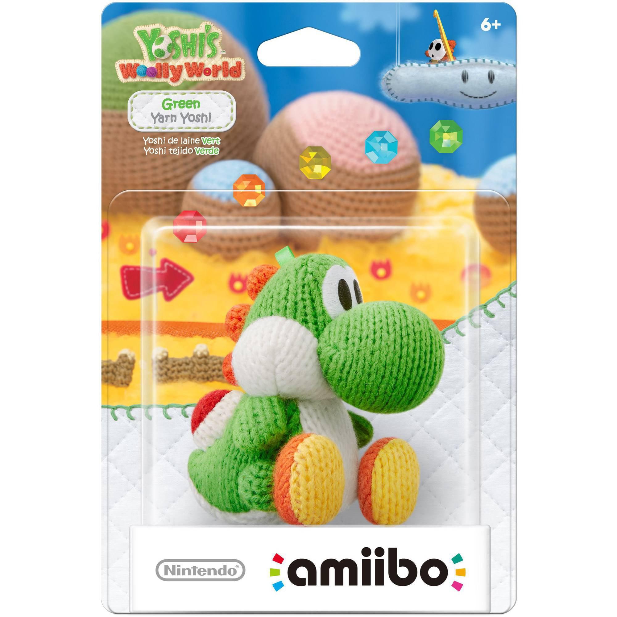 Video Juegos Yoshi de hilo verde amiibo (Universal) + Nintendo en Veo y Compro