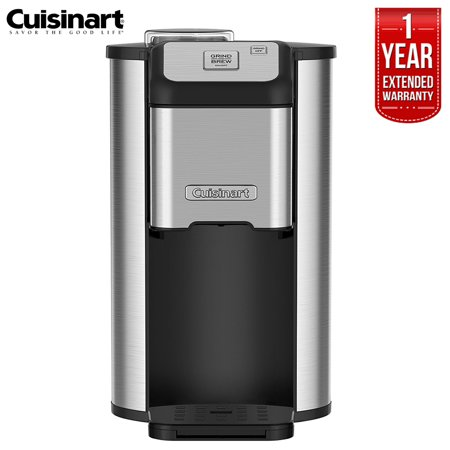 Cuisinart DGB-1FR  Single Cup Grind and Brew Ground Coffee Maker (Certified Refurbished) with 1 Year Extended Warranty