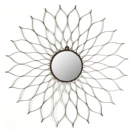 Flower Sunburst Mirror - 35W x 35H in.