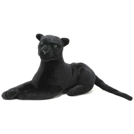 Sid the Panther | 2 ft Long (Paw to End of Tail) Stuffed Animal Plush Cat | By Tiger Tale Toys
