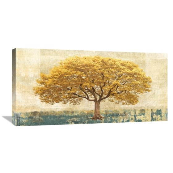 Global Gallery Leonardo Bacci \'Gilded Oak\' Canvas Wall Art - Walmart.com