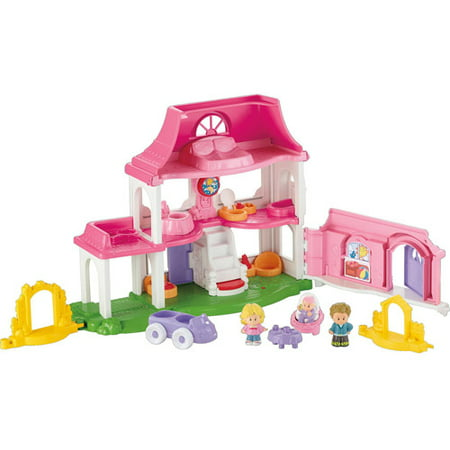 Fisher Price Little People Happy Sounds Home Play Set Walmart