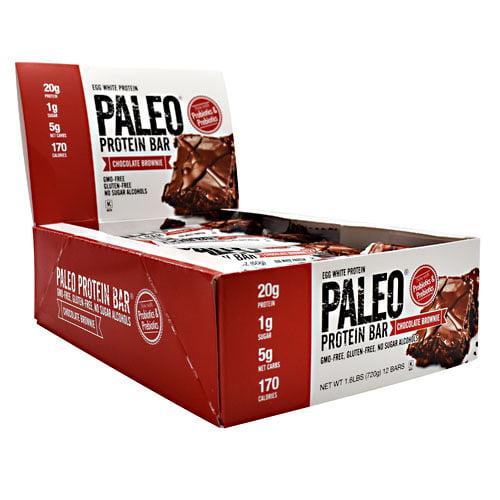 Julian Bakery Paleo Protein Bar Chocolate Brownie - 12 - ...