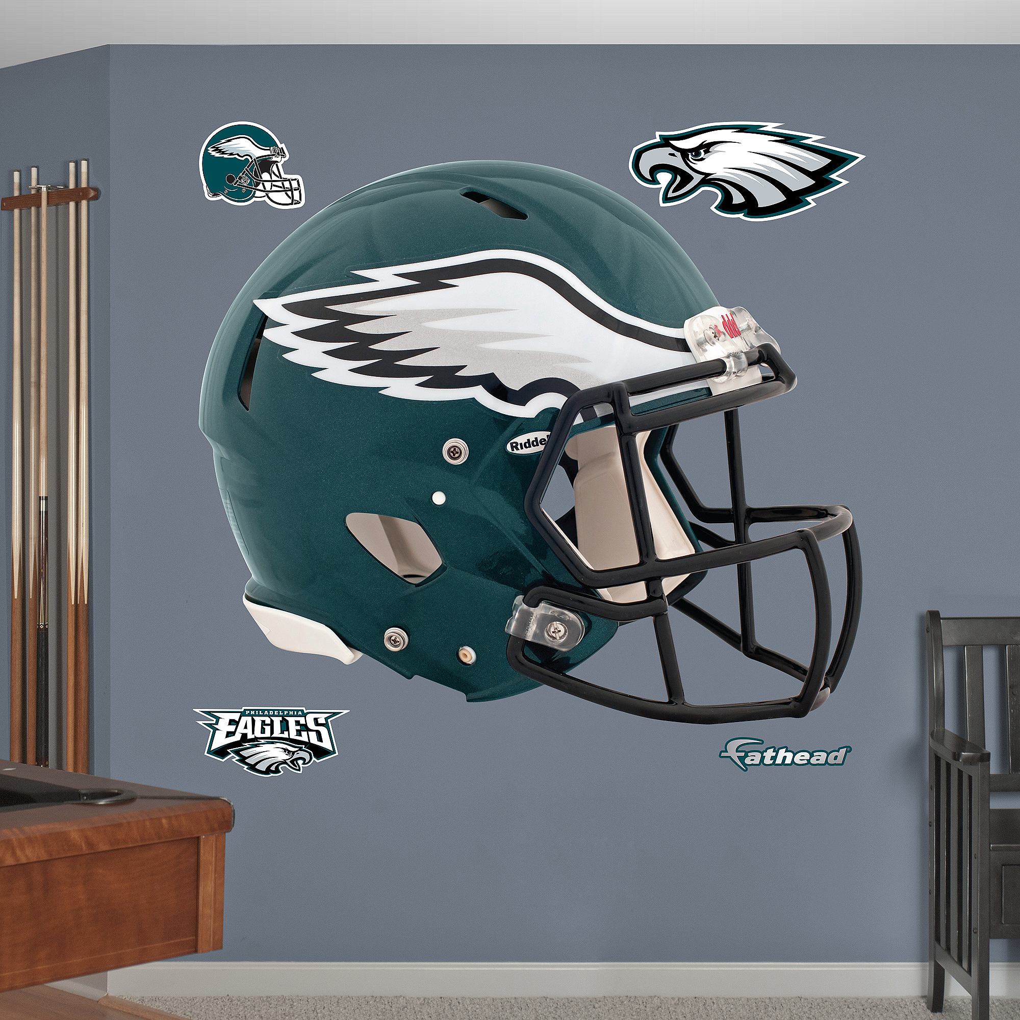 Philadelphia Eagles 2012 Helmet