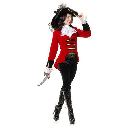 Halloween Page Boy Pirate Lady Adult Costume