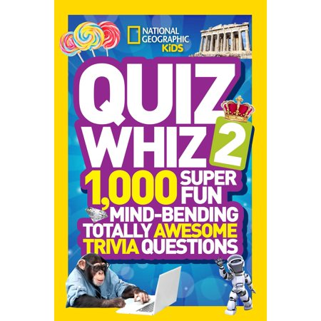 Quiz Whiz 2: 1,000 Super Fun Mind-Bending Totally Awesome Trivia Questions](Trivia Quiz Halloween)