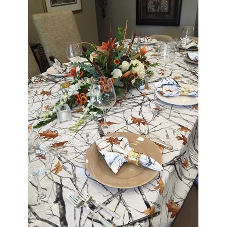 Celebration Tablecloths TrueTimber Camo Snowfall Tablecloth
