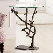 SPI Home 33491 Bird & Pinecone Table