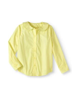 8787fc74f11fce Product Image Genuine Uniform Girls' Long Sleeve Peter Pan