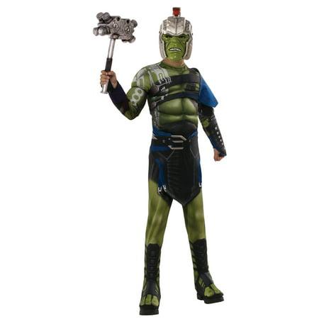 Thor: Ragnarok War Hulk Deluxe Child Costume S - Hulk Replica Costume