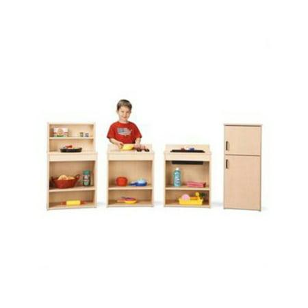 Jonti-Craft Young Time Play Kitchen Set - Set of 4 (Young Time Play Kitchen)