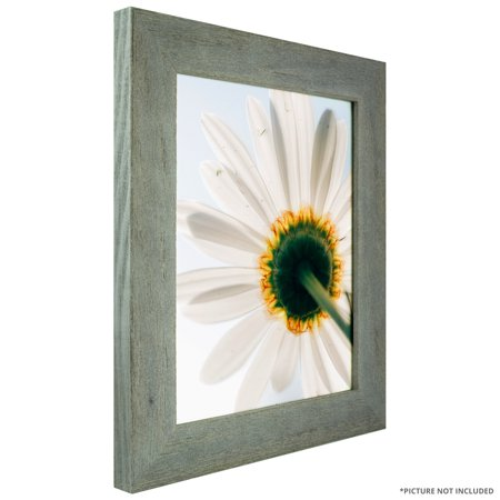 Craig Frames Barnwood Chic Rustic Hardwood Picture Frame Gray 8 X