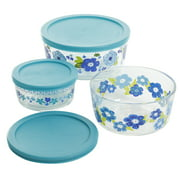 The Pioneer Woman Dazzling Dahlias 6-Piece Storage Containers