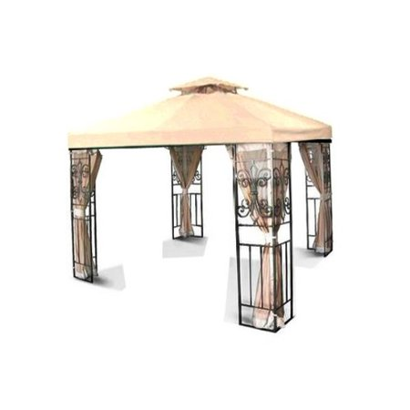 Canopy Top Cover, Designed For Double-Tier Gazebo Frames